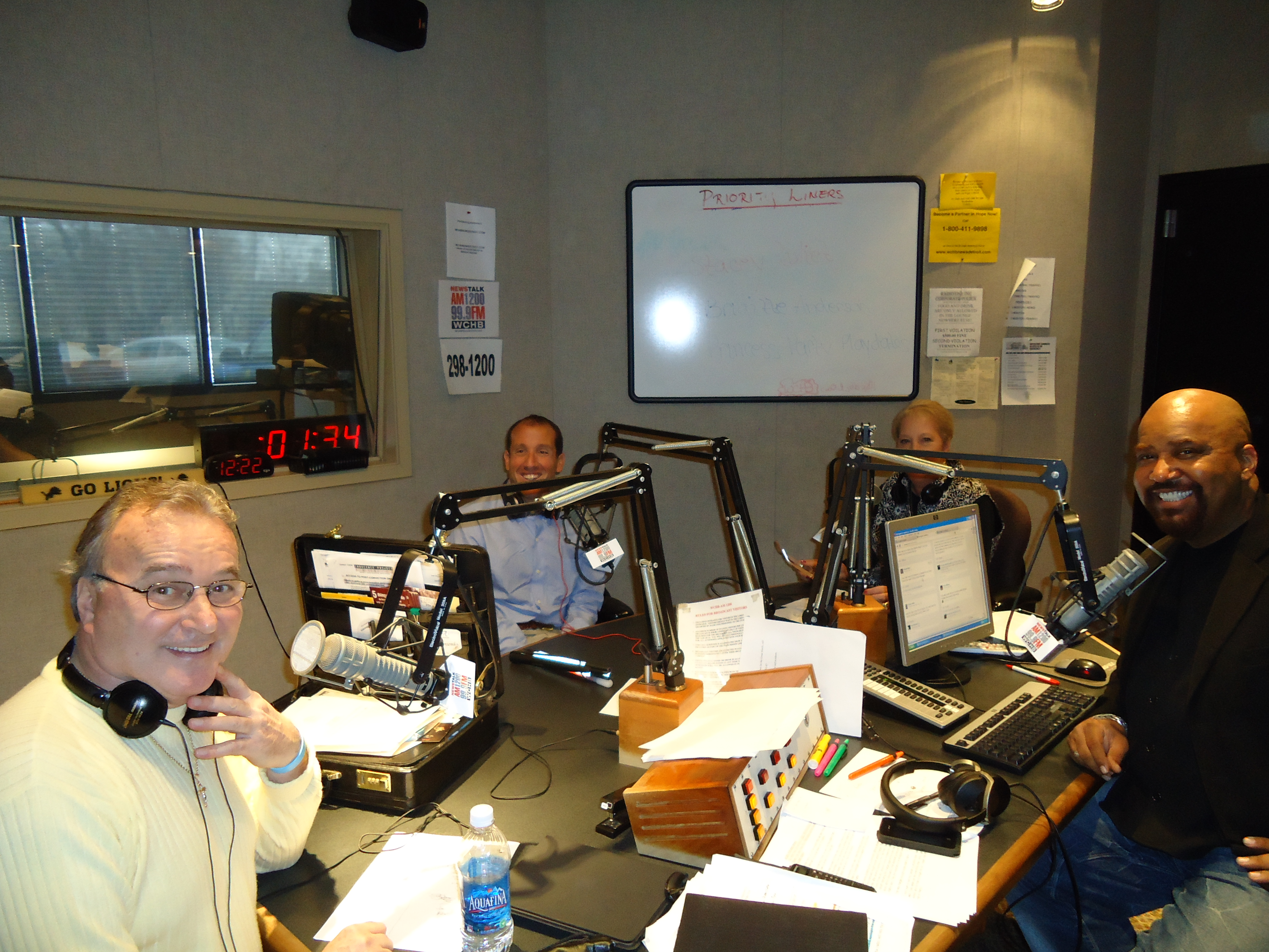 On the Angelo Henderson Radio Show with Richard Bernstein